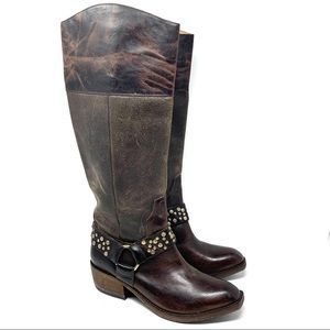 Spirit by Lucchese Alexis riding boot brown 11 E86